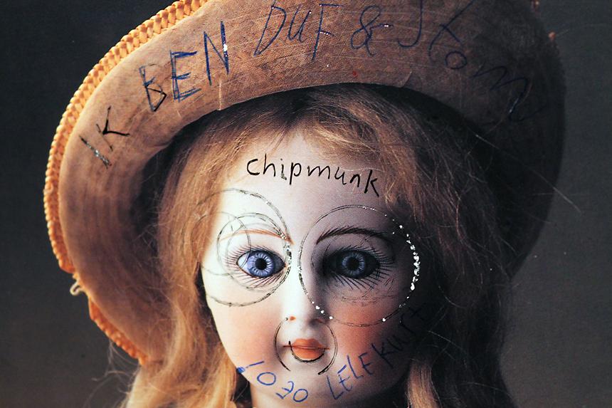 Rabbithead doll